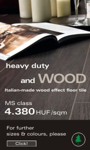 Italian-made wood effect floor tile
